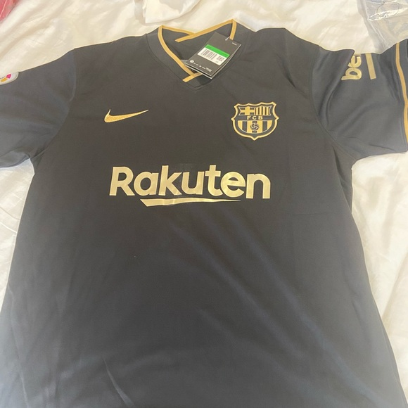 Nike Other Messi Barcelona Black Jersey 2021 Poshmark